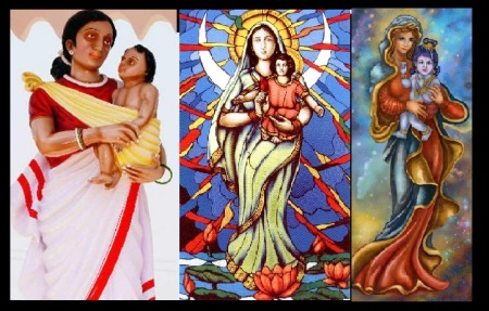 Mary, krishna, inculturation