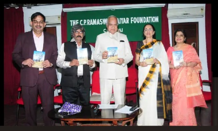 TKV Rajan book on Kashmir released